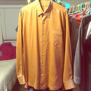 Tommy bahama vintage silk  button  down